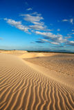 Sand dune of cumbuco Stock Photos