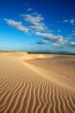 Sand dune of cumbuco Stock Photos