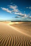 Sand dune of cumbuco Royalty Free Stock Images