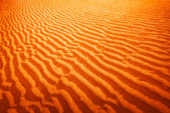 Sand dune in desert Royalty Free Stock Image