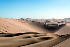 Sand Dune Desert Landscape Royalty Free Stock Photos
