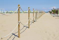 Sand Dune Fence Stock Photography