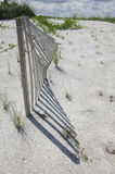 Sand Dune Fencing Stock Images