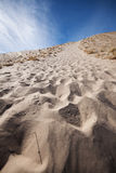 Sand Dune Foot Prints Royalty Free Stock Image