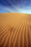 Sand dune, india Royalty Free Stock Photo