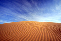 Sand dune, india Royalty Free Stock Photos