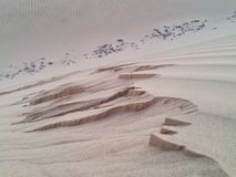 Sand dune in KSA Stock Photo