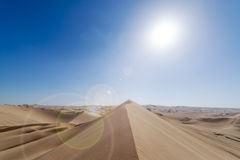 Sand Dune Lens Flare Royalty Free Stock Image