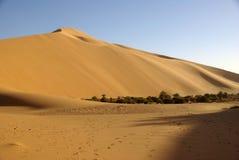 Sand dune, Libya Stock Photo