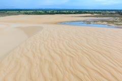 Lomas de Arena Regional Park, Santa Cruz, Bolivia. Sand dune of Lomas de Arena Regional Park, Santa Cruz, Bolivia stock photos