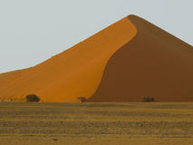 Sand Dune in Namib-Nauktuft National Park Stock Images