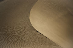 Sand Dune in Nubra Valley Stock Photography
