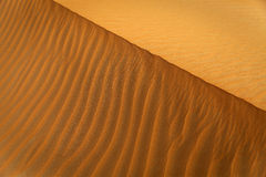 Sand dune pattern Stock Photography