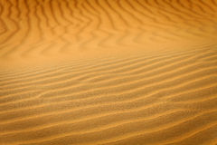 Sand dune pattern Royalty Free Stock Photos