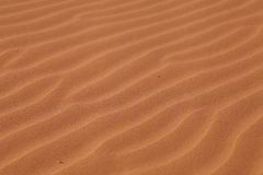 Sand Dune Patterns Stock Photo