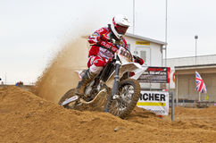 Sand dune racing Stock Photo