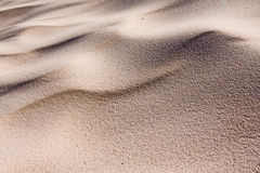 Sand dune ripples Stock Image