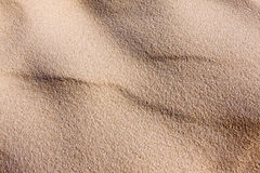 Sand dune ripples Stock Photos