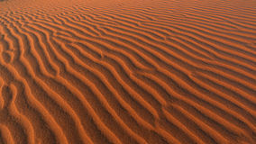 Sand Dune ripples, Namibia Royalty Free Stock Image
