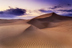Sand Dune Rise Magent Stock Photography