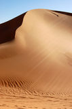 Sand Dune, Sahara Desert Stock Photo