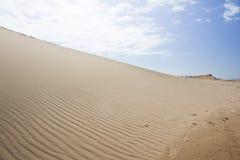 Sand Dune. Sleeping Bear Sand Dunes in Michigan Royalty Free Stock Photo