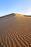 Sand Dune. In sunset in Dubai Stock Photo