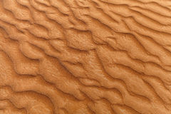 Sand dune texture Royalty Free Stock Photo