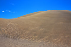 Sand dune texture Stock Photos