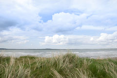 Sand dune view of the river shannon Stock Photos