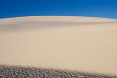 Sand Dune at White Sands National Monument, USA Stock Photo