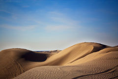 Sand Dunes. Located in southern California Stock Photography