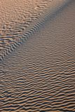 Sand Dunes. Detail of sand dunes on eastern side of Walls of China, Lake Mungo National Park, Australia Stock Photography