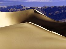 SAND DUNES. Of Death valley Royalty Free Stock Image