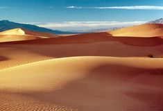 SAND DUNES. Of Death valley Stock Images