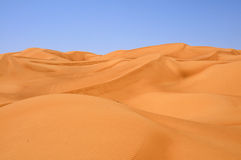 Sand dunes. On the way to Hatta from Dubai Stock Images