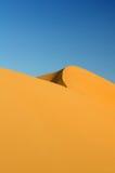 Sand dunes. High dunes of Erg Chebbi, Morocco Royalty Free Stock Photos