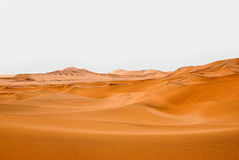 Sand dunes. In south Africa on the Namibia coastline Stock Images