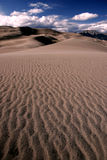 Sand Dunes. The Great Sand Dunes National Park Royalty Free Stock Photography