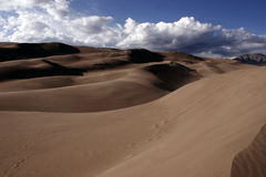 Sand Dunes. The Great Sand Dunes National Park Stock Images