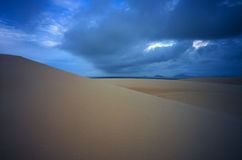 Sand Dunes. In East Australia Royalty Free Stock Photography