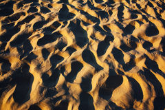 Sand dunes abstract Royalty Free Stock Photos