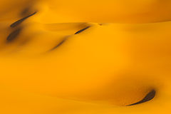 Sand Dunes - Awbari Sand Sea - Sahara, Libya Stock Image