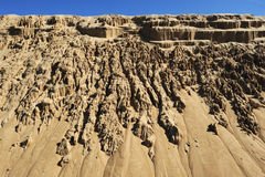 The sand dunes at Barra de Valizas Stock Photos