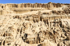 The sand dunes of Barra de Valizas Royalty Free Stock Image