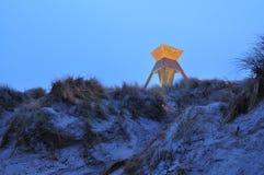 Sand dunes in Blokhus Denmark Stock Images