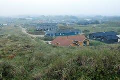 Sand dunes in Blokhus Denmark Royalty Free Stock Images