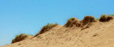 Sand Dunes/blue sky Stock Photo