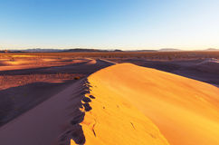 Sand dunes in California Stock Photography