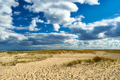 Sand dunes at Cape Cod Stock Photography
